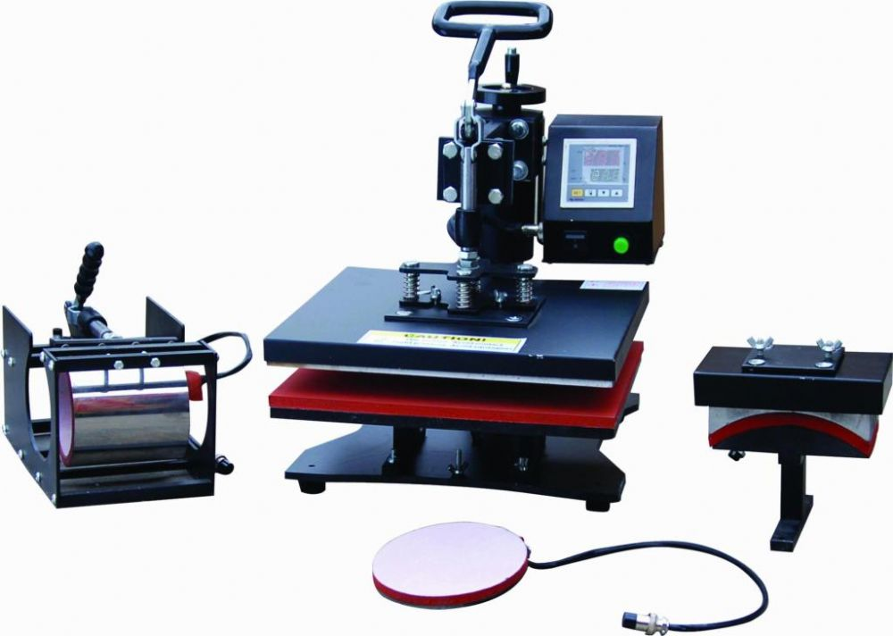 5 In 1 Heat Press For T Shirt Printing